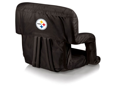 Pittsburgh Steelers Picnic Time Ventura Portable Reclining Stadium Seat