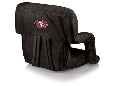 San Francisco 49ers Picnic Time Ventura Portable Reclining Stadium Seat