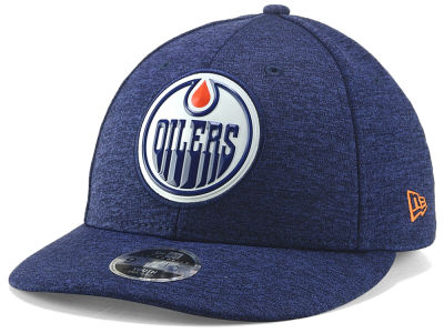 Edmonton Oilers New Era NHL Youth Beveled Tech Low Crown 9FIFTY Snapback Cap 2e133b43769