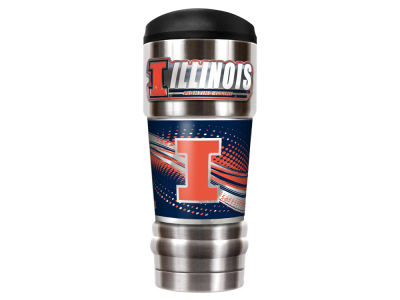 Illinois Fighting Illini Great American The MVP 18oz Vacuum Insulated Travel Tumbler
