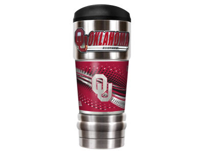 Oklahoma Sooners Great American The MVP 18oz Vacuum Insulated Travel Tumbler