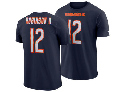 Chicago Bears Allen Robinson Nike NFL Men's Pride Name and Number Wordmark T-shirt