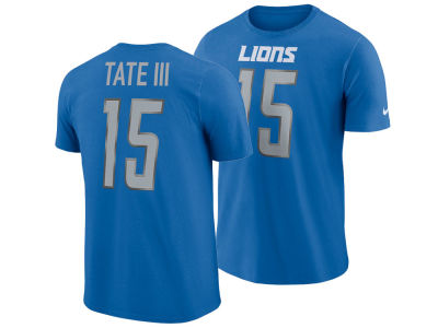 Detroit Lions Golden Tate Nike NFL Men's Pride Name and Number Wordmark T-shirt