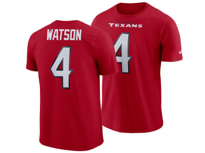 cbbd0a557 Houston Texans DeShaun Watson Nike NFL Men s Pride Name and Number Wordmark  T-shirt
