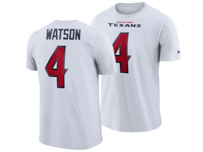 317392f79 Houston Texans DeShaun Watson Nike NFL Men s Pride Name and Number Wordmark  T-shirt
