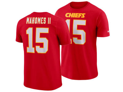 Kansas City Chiefs Pat Mahomes Nike NFL Men's Pride Name and Number Wordmark T-shirt