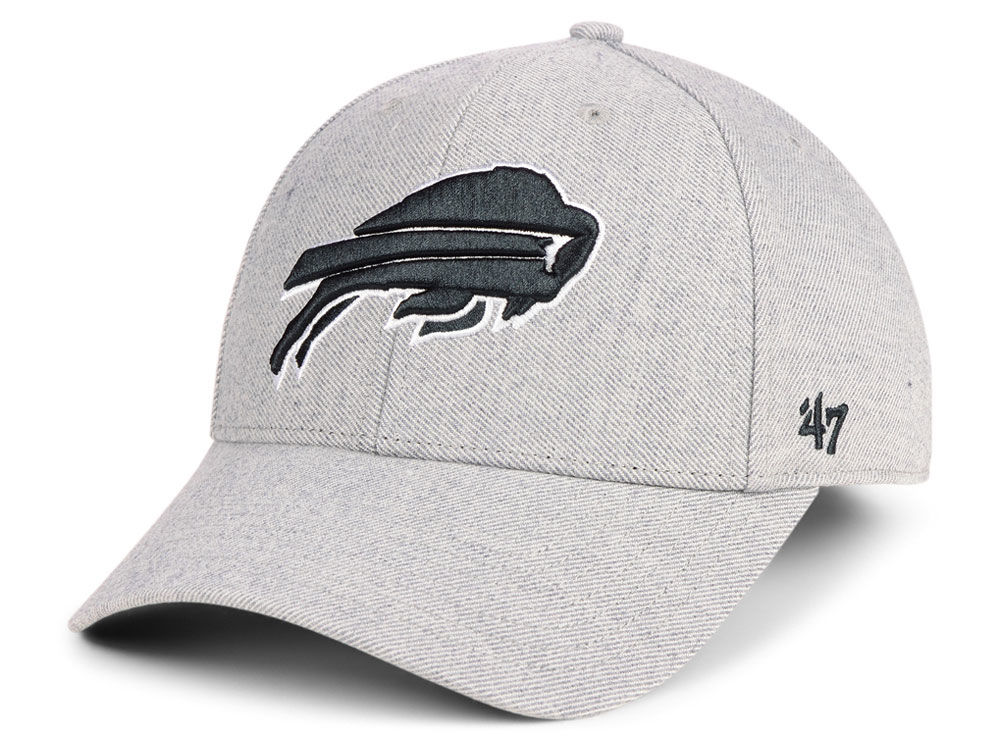 24386bc7453 ... sweden buffalo bills 47 nfl heathered black white mvp cap aff6b eedde