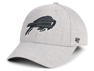Buffalo Bills '47 NFL Heathered Black White MVP Cap