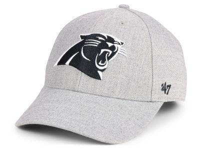 f9ac869b4 Carolina Panthers  47 NFL Heathered Black White MVP Cap
