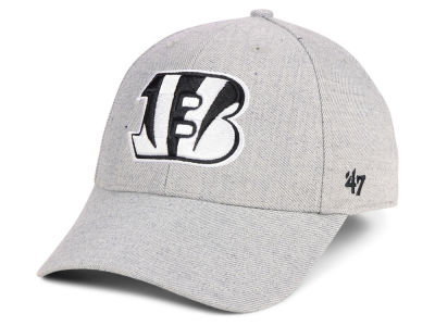1d798308a59 Cincinnati Bengals  47 NFL Heathered Black White MVP Cap