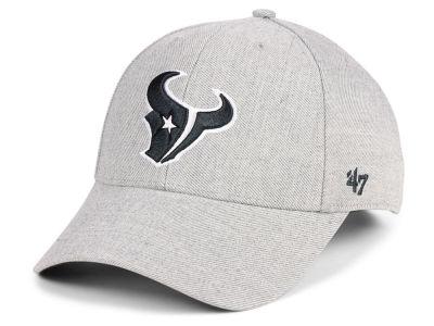 Houston Texans  47 NFL Heathered Black White MVP Cap d19f713b885b