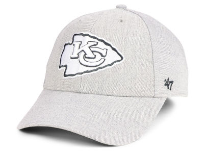 Kansas City Chiefs '47 NFL Heathered Black White MVP Cap