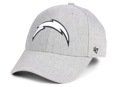 Los Angeles Chargers '47 NFL Heathered Black White MVP Cap