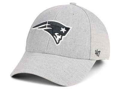 f98c1728dc5 New England Patriots  47 NFL Heathered Black White MVP Cap