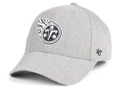 Tennessee Titans '47 NFL Heathered Black White MVP Cap