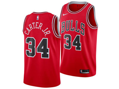 Chicago Bulls Wendell Carter Jr. Nike NBA Youth Icon Swingman Jersey