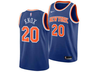 New York Knicks Kevin Knox Nike NBA Youth Icon Swingman Jersey