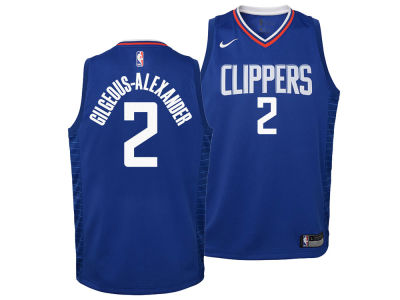 Los Angeles Clippers Shai Gilgeous-Alexander Nike NBA Youth Icon Swingman Jersey