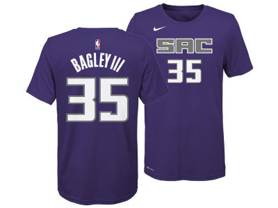 Sacramento Kings Marvin Bagley III Nike NBA Youth Icon Name and Number T-Shirt