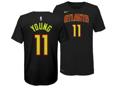 Atlanta Hawks Trae Young Nike NBA Youth Icon Name and Number T-Shirt