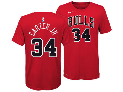 Chicago Bulls Wendell Carter Jr. Nike NBA Youth Icon Name and Number T-Shirt
