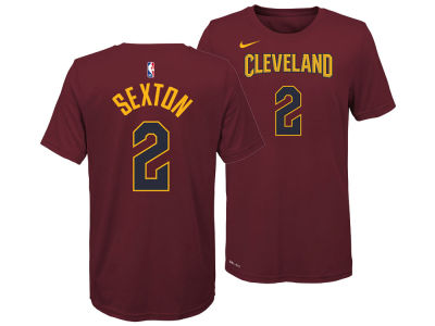 Cleveland Cavaliers Collin Sexton Nike NBA Youth Icon Name and Number T-Shirt