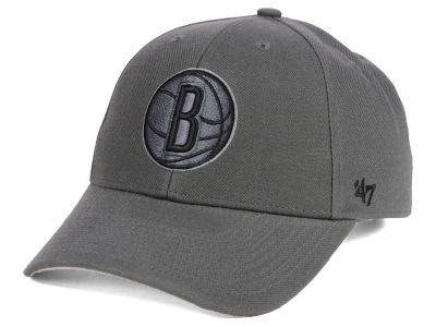 Brooklyn Nets '47 NBA Charcoal Pop MVP Cap