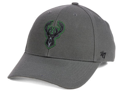 Milwaukee Bucks '47 NBA Charcoal Pop MVP Cap