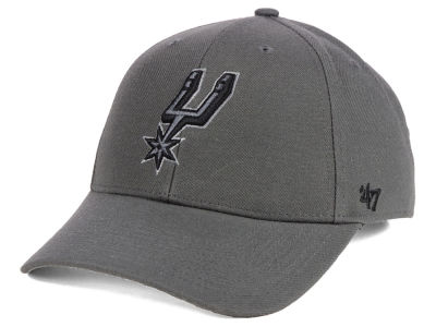 San Antonio Spurs '47 NBA Charcoal Pop MVP Cap