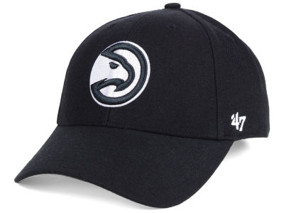 Atlanta Hawks '47 NBA Black White MVP Cap