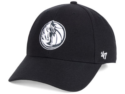 Dallas Mavericks '47 NBA Black White MVP Cap