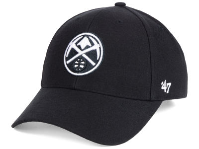 Denver Nuggets '47 NBA Black White MVP Cap