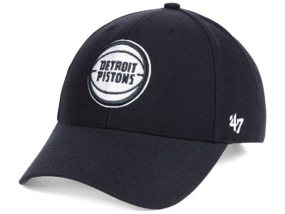 Detroit Pistons '47 NBA Black White MVP Cap