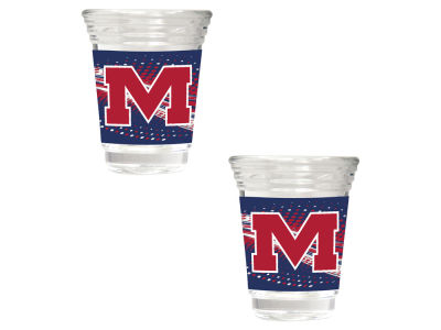Ole Miss Rebels Great American 2 Piece - 2oz Party Shot Set