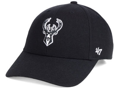 Milwaukee Bucks '47 NBA Black White MVP Cap