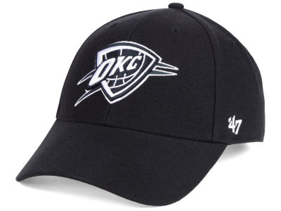 Oklahoma City Thunder '47 NBA Black White MVP Cap
