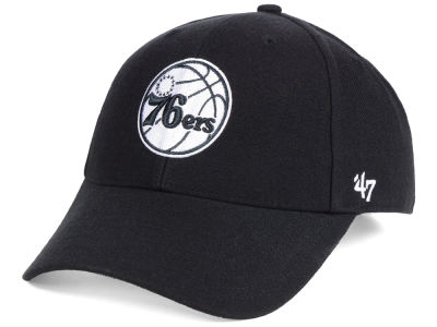 Philadelphia 76ers '47 NBA Black White MVP Cap