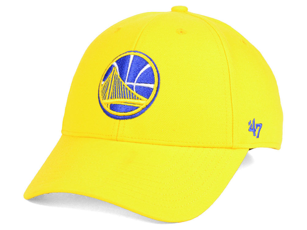 876034078a9 Golden State Warriors  47 NBA Team Color MVP Cap