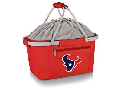 Houston Texans Picnic Time Metro Basket Collapsible Cooler Tote