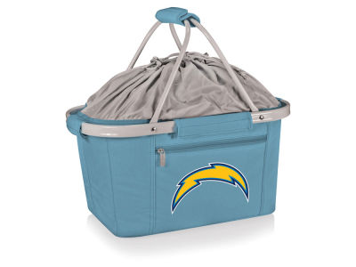 Los Angeles Chargers Picnic Time Metro Basket Collapsible Cooler Tote