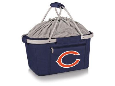 Chicago Bears Picnic Time Metro Basket Collapsible Cooler Tote
