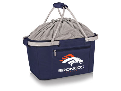 Denver Broncos Picnic Time Metro Basket Collapsible Cooler Tote