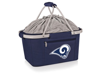Los Angeles Rams Picnic Time Metro Basket Collapsible Cooler Tote