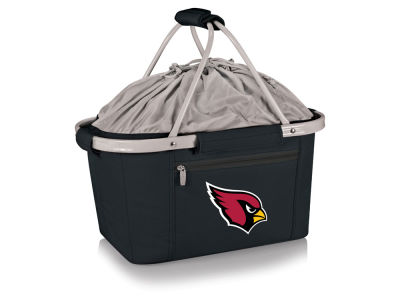 Arizona Cardinals Picnic Time Metro Basket Collapsible Cooler Tote
