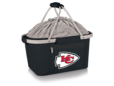 Kansas City Chiefs Picnic Time Metro Basket Collapsible Cooler Tote