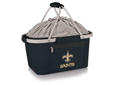 New Orleans Saints Picnic Time Metro Basket Collapsible Cooler Tote