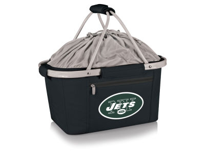 New York Jets Picnic Time Metro Basket Collapsible Cooler Tote