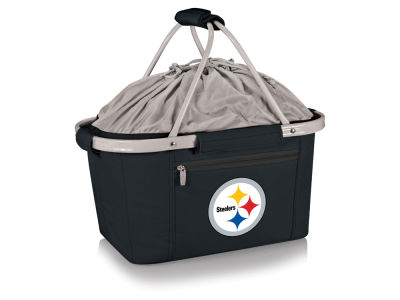 Pittsburgh Steelers Picnic Time Metro Basket Collapsible Cooler Tote