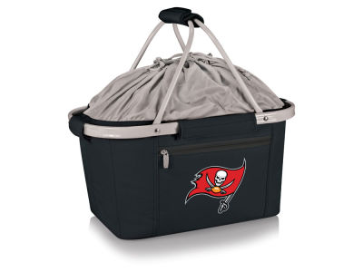 Tampa Bay Buccaneers Picnic Time Metro Basket Collapsible Cooler Tote