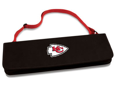 Kansas City Chiefs Picnic Time NFL Metro BBQ Tote & 3-Piece Tool Set